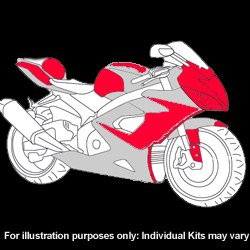 Kawasaki - ZX - 10R - 2008 - 2009 - DIY Full Kit-0