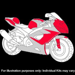 Kawasaki - ZX - 6R - 2007 - 2008 - DIY Full Kit-0